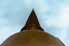 Pagoda grande de Phra Pathom Chedi, provincia de Nakhon Pathom, Tailandia fotografía de archivo libre de regalías