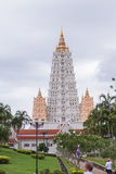Pagoda grande en el templo de Wat Yan Fotografía de archivo libre de regalías