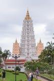 Pagoda grande en el templo de Wat Yan Imagenes de archivo
