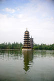 Pagoda at Guilin royalty free stock photo