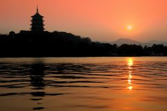 Pagoda Hangzhou Photos stock