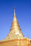 Pagoda hermosa fotografía de archivo
