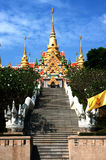 Pagoda on hill in Middle of Thailand . Stock Photography