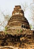 Less pagoda. At historical park, Sukhothai, Thailand Royalty Free Stock Photos