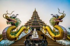Pagoda, Huai Pla Kang Temple image libre de droits