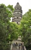 Pagoda in Huqiu Stock Images
