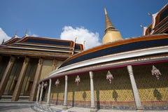 Pagoda i rajabophittempel Arkivfoton