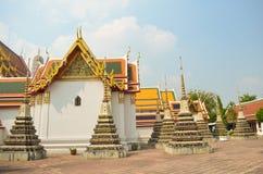 Pagoda i Wat Pho Arkivfoton