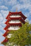 Pagoda In Chinese Garden Stock Photo