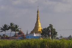 Pagoda at Inle lake Royalty Free Stock Photos