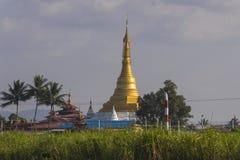 Pagoda at Inle lake Royalty Free Stock Photos