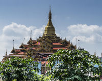 Pagoda at Inle lake Royalty Free Stock Photography