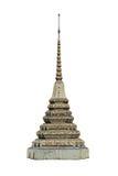 Pagoda isolata su fondo bianco (isolato su bianco e sui percorsi della clip) fotografie stock libere da diritti