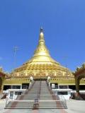 Global Pagoda. Its photo of pagoda. Place - Mumbai stock photos