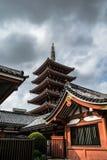 Pagoda, Japón Imagen de archivo libre de regalías