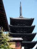 Pagoda japonês Imagens de Stock