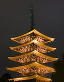 pagoda japonaise Images stock