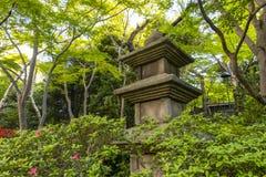 Pagoda japonaise superficielle par les agents image libre de droits