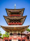 Pagoda japonesa Imágenes de archivo libres de regalías