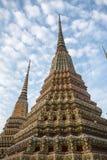 Pagoda jest w Wacie Pho który wymieniał jako świątynia pagoda Obrazy Stock