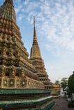 Pagoda jest w Wacie Pho który wymieniał jako świątynia pagoda Obrazy Royalty Free