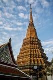 Pagoda jest w Wacie Pho który wymieniał jako świątynia pagoda Fotografia Stock