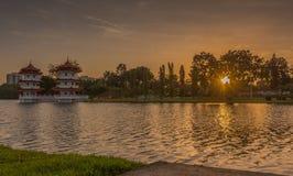 Pagoda jumelle Photographie stock