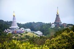 Pagoda jumelle Photo stock