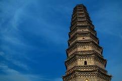 pagoda kaifeng утюга фарфора Стоковые Изображения