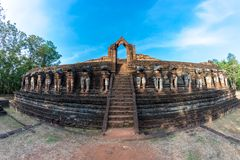 pagoda in Kamphaeng Phet Historical Park Stock Photography