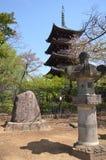 Pagoda of Kan`ei-ji Stock Images