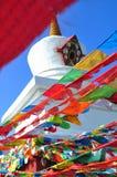 Pagoda a KANDDING, SICHUAN Fotografia Stock Libera da Diritti