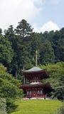Pagoda of Katsuoji temple in Japan Stock Photo
