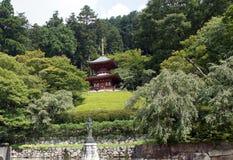 Pagoda of Katsuoji temple in Japan Royalty Free Stock Photography