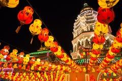 Pagoda a Kek Lok Si Fotografie Stock
