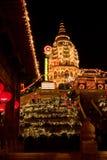 Pagoda Kek Lok Si, Penang. Lighted pagoda in a chinese temple in Penang Royalty Free Stock Photography