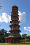 Pagoda in Kew gardens Stock Images
