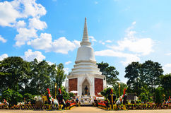 Pagoda of King Naresuan the Great Rachanusorn ,Chiangmai Thailan Royalty Free Stock Images