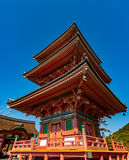 Pagoda at Kiyomizu-dera temple in Kyoto Stock Images
