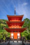 Pagoda at the kiyomizu-dera temple, Kyoto, Japan. Pagoda at the kiyomizu-dera temple, Gion, Kyoto, Japan Stock Image