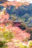 Pagoda at Kiyomizudera, Kyoto Stock Images