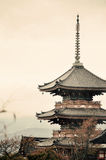 Pagoda in Kyoto Royalty Free Stock Photos