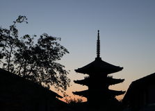 Pagoda Kyoto Japan Royalty Free Stock Photos