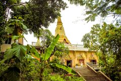Pagoda Laem Sor, Thailand Koh Samui Royalty Free Stock Photos