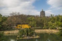 Pagoda Leifeng стоковая фотография