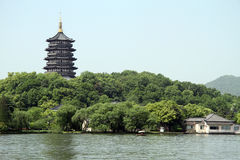 Pagoda Leifeng Royalty Free Stock Photography