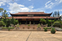 Pagoda Linh An , Vietnam. Royalty Free Stock Image