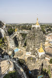Pagoda of Loikaw, detail Stock Photography