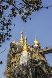 Pagoda of Loikaw Stock Photography