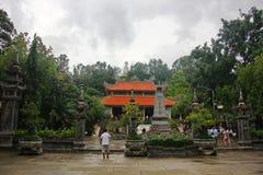 Pagoda Long Son royalty free stock photos